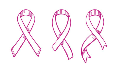 Cancer Ribbon Outline Photos Royalty Free Images Graphics