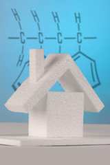 chemical formula behind a house