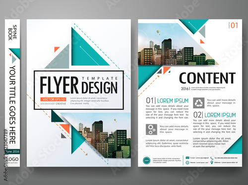 Quot Flyers Design Template Vector Brochure Report Business