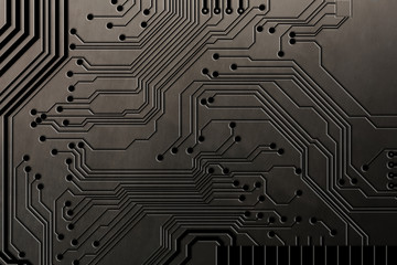Abstract Technology Backgrounds on Metal background
