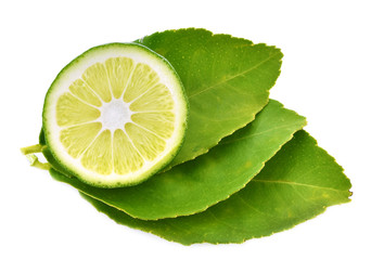 Lime white background