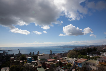 View of Valparaiso Bay