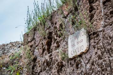 Ruines romaines dans le Forum Romain