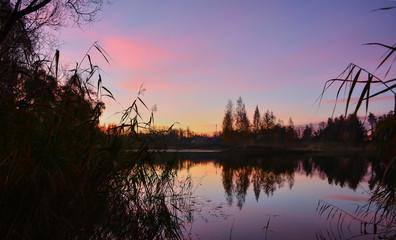 Autumn dawn.