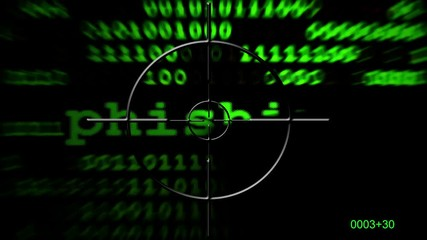 Wall Mural - Phishing radar