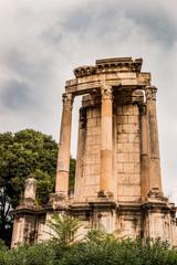 Le temple de Vesta dans le Forum Romain