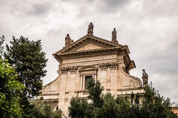Basilique Sainte-Françoise dans le Forum Romain