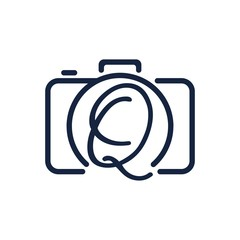 Q photography logo design