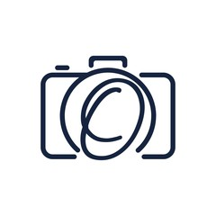 O photography logo design