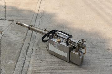 Equipment for Fogging DDT spray kill mosquito