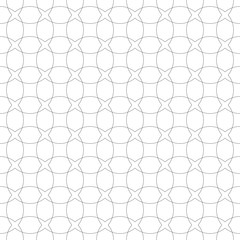 pattern seamless circle  black white