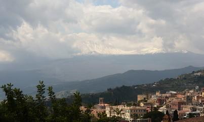 Etna...vu de Taormina