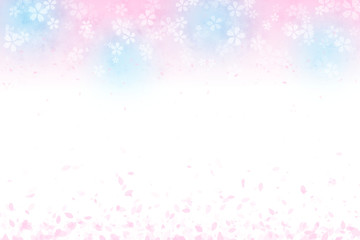 桜の背景 春イメージ