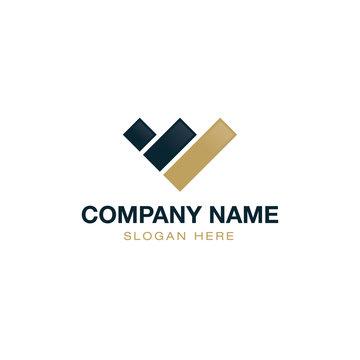 Finance Accounting Logo Design Vector