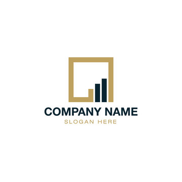 Finance Accounting Logo Design Vector
