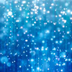 beautiful blue Christmas background