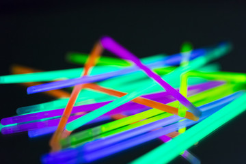 colorful neon light