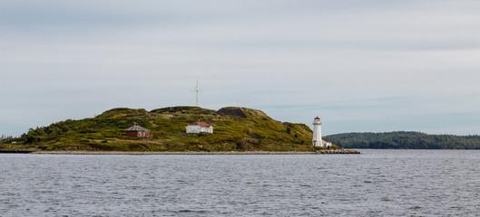 Lighthouse on Island Near Halifax