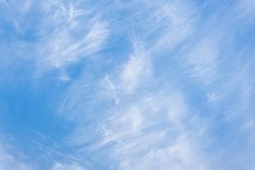 Blue sky and Cloud ,The vast blue sky and Soft Cloud