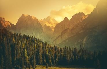 Wall Mural - Italian Dolomites Landscape