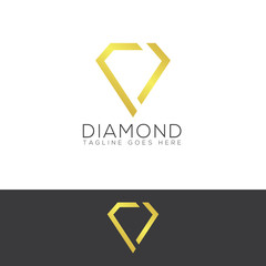 Diamond Creative Concept Logo Design