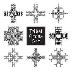 tribal cross set