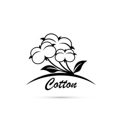 Cotton flower symbol
