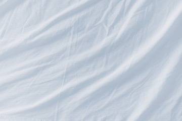 white bed sheet background. Crumpled Bed Sheets Texture As Background White Sheet