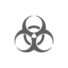 Biohazard icon illustration
