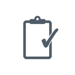 Clipboard icon illustration