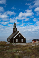 Colonial Church in Ilulissat, Greenland