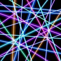 Abstract vector background, more glowing lines, geometry, technology, neon wallpaper