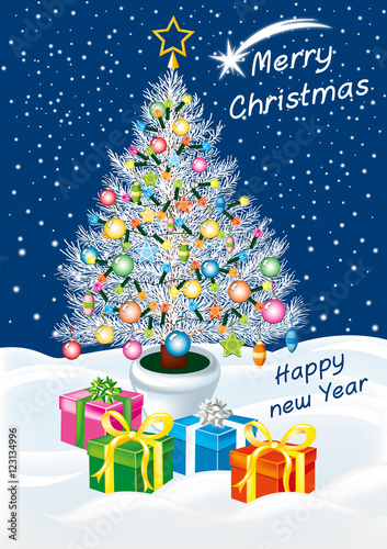 Immagini Felice Natale.Buon Natale E Felice Anno Nuovo Immagini E Vettoriali