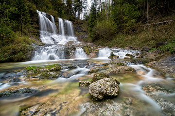 Wasserfall bei Inzell