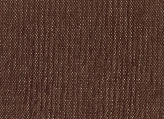 Brown fabric texture with golden threads