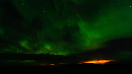 Nordlichter - Northern Light - Aurora in Island