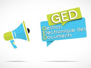 mégaphone : GED
