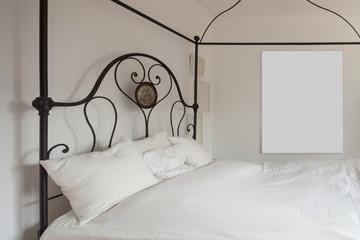 Interior, lovely bedroom
