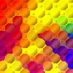 Abstract coloring background of the pastels gradient with visual mosaic and lighting effects,good for your project design
