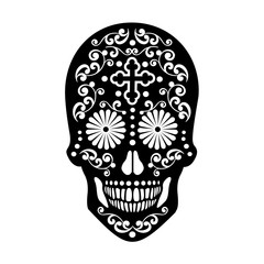 Holy Death, Day of the Dead, mexican sugar skull