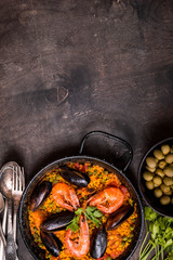 Paella background
