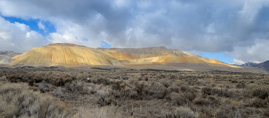 Panoramic view of The Bingham Canyon Mine  Or Kennecott Copper M