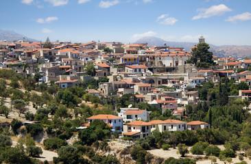 Mountain village Pano Lefkara, Cyprus