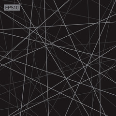 Abstract vector background, more lines, geometry, technology, black wallpaper