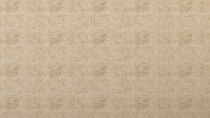 Travertine stone wall, floor background. 3d render