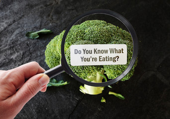 Magnified What You're Eating food label