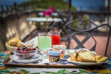 colazione terrazzo