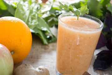 Healthy ginger drink