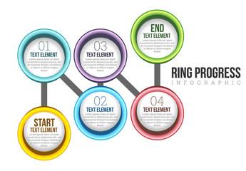 Ring Progress Infographic