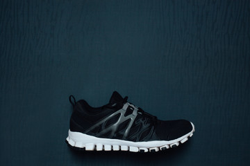 Man's running shoes